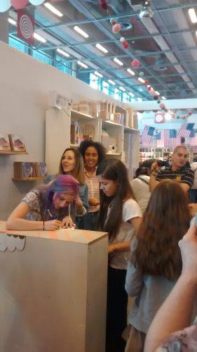 Photo du meet-up de Miss Creatives au Printemps du DIY, 7 mai 2016. Cliché Béatrice Guillier.