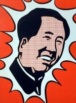 """Roy Lichtenstein, """"Mao"""", 1971, lithographie, 68 x 51 cm (ill. 2)"""