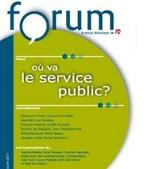 Couverture du premier numéro de Forum, CGT-FO, 2011