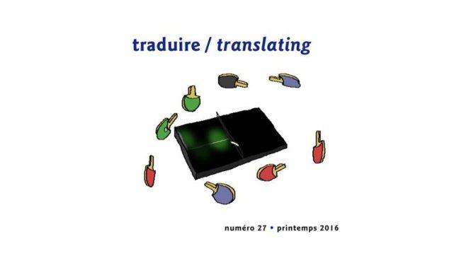 """""""Traduire"""" : lancement d'Intermédialités #27 au Port de tête, mardi 7 novembre, 18h"""