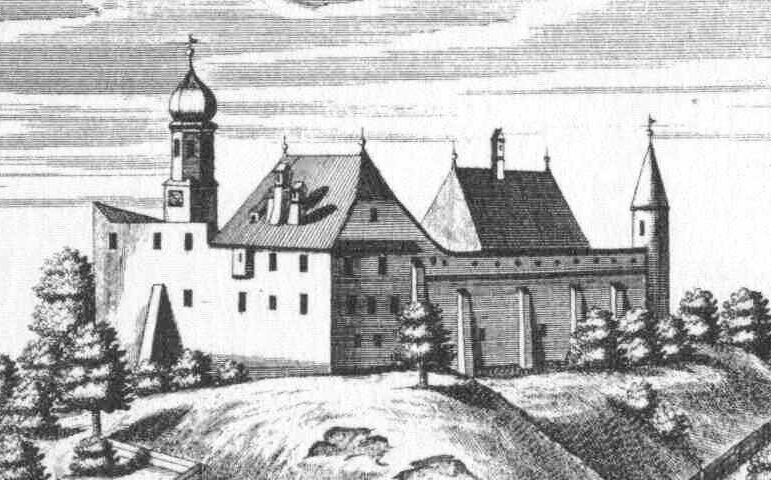 Michael Wening: Schloss Mörmoosen, 1721.