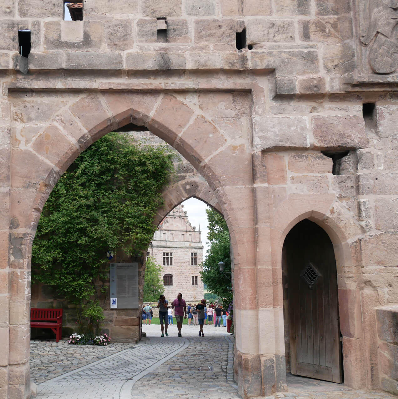 Eingang der Cadolzburg
