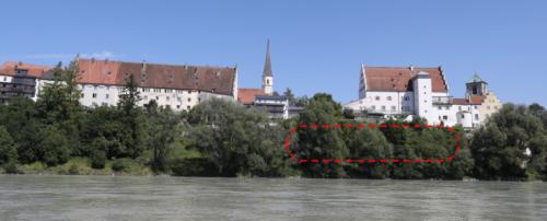 Ansicht der Burganlage