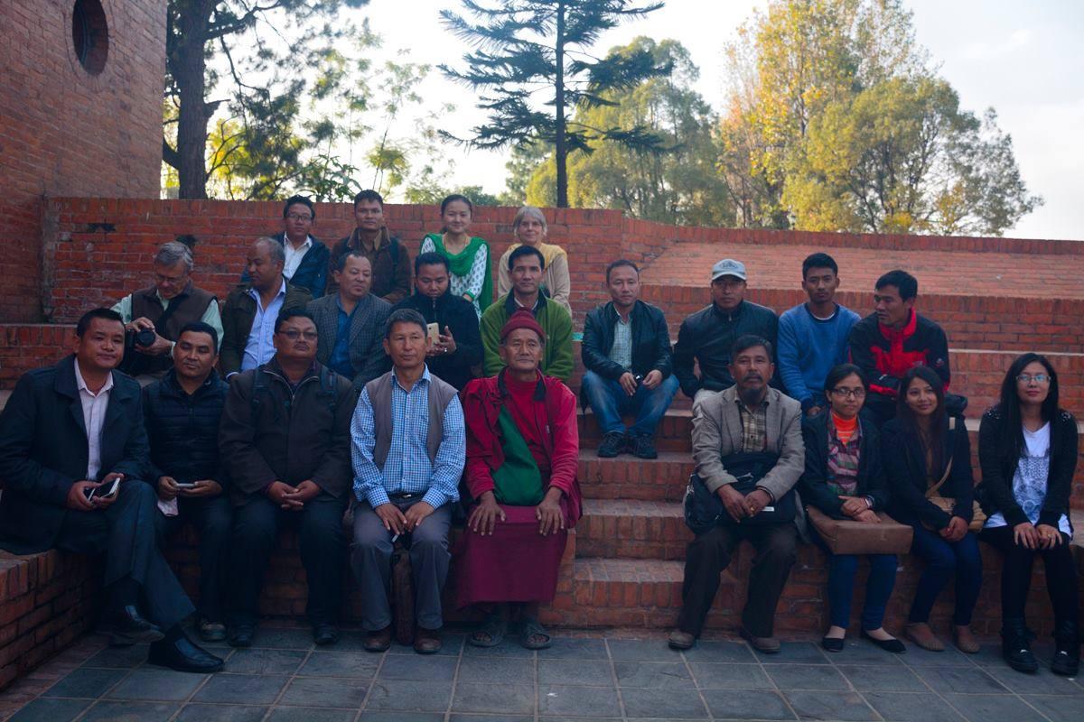 Séminaire avec les défenseurs de la langue tamang