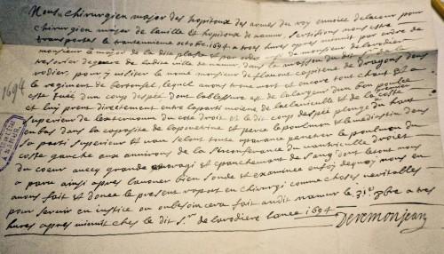 AEN, Conseil de Namur (office fiscal), n° 3681, 1694.