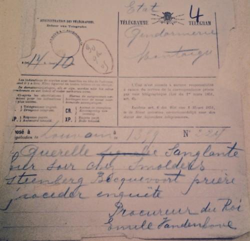 AGR2, Cour d'Assises de Brabant, Case File 1316, 1905