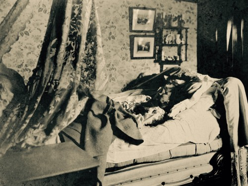 AGR2, Cour d'Assises de Brabant, Case file 1300, 1903, photo du cadavre.