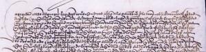 Letra cortesana, siglo XVI