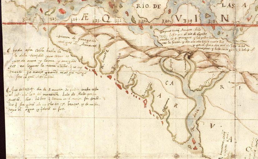 Paleografiar mapas
