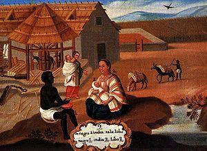 Visita a Indios Zambos, 1610