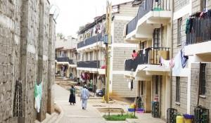 The new units in Soweto East, Kibera, January 2016@Adèle Charbonneau