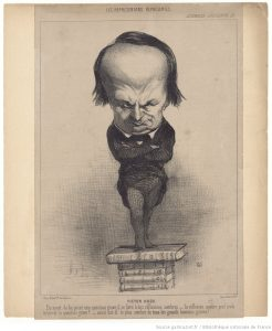 Honoré Daumier, Victor Hugo, 1849 ©BnF