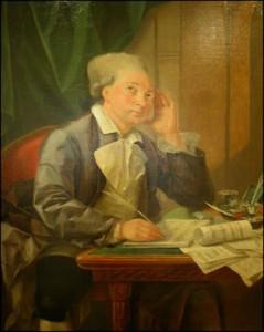 Dezède peint par Jean-Baptiste Greuze