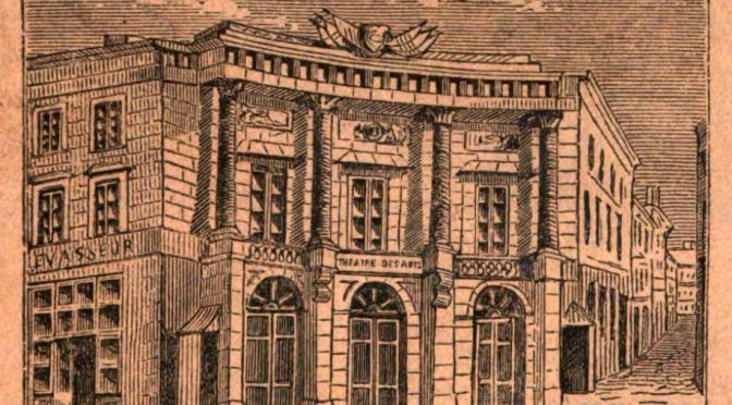 L'historiographie des institutions lyriques françaises (1780-1914)