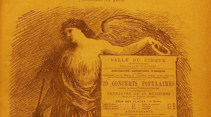 Colloque «140 ans de musique à Angers»