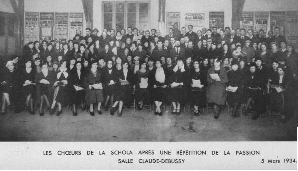 La Schola Cantorum de Nantes