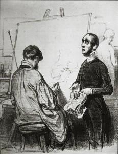 Gavarni Artiste et son critique 1839