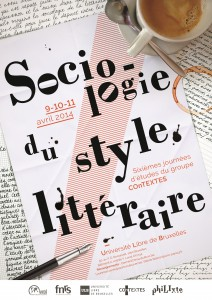 Affiche Sociologie du style littéraire