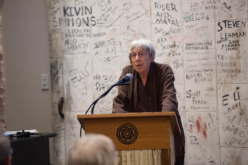 """Ursula K. Le Guin """"in memoriam"""""""