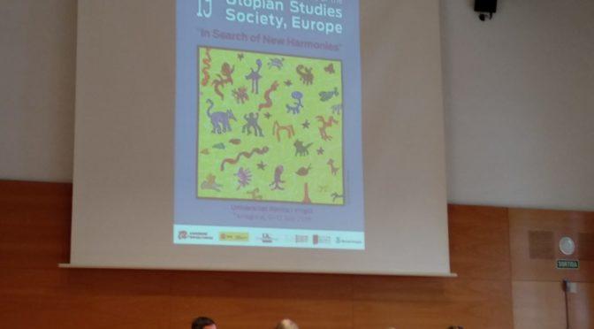 19th International Conference of the Utopian Studies Society (Tarragona 2018): informe final