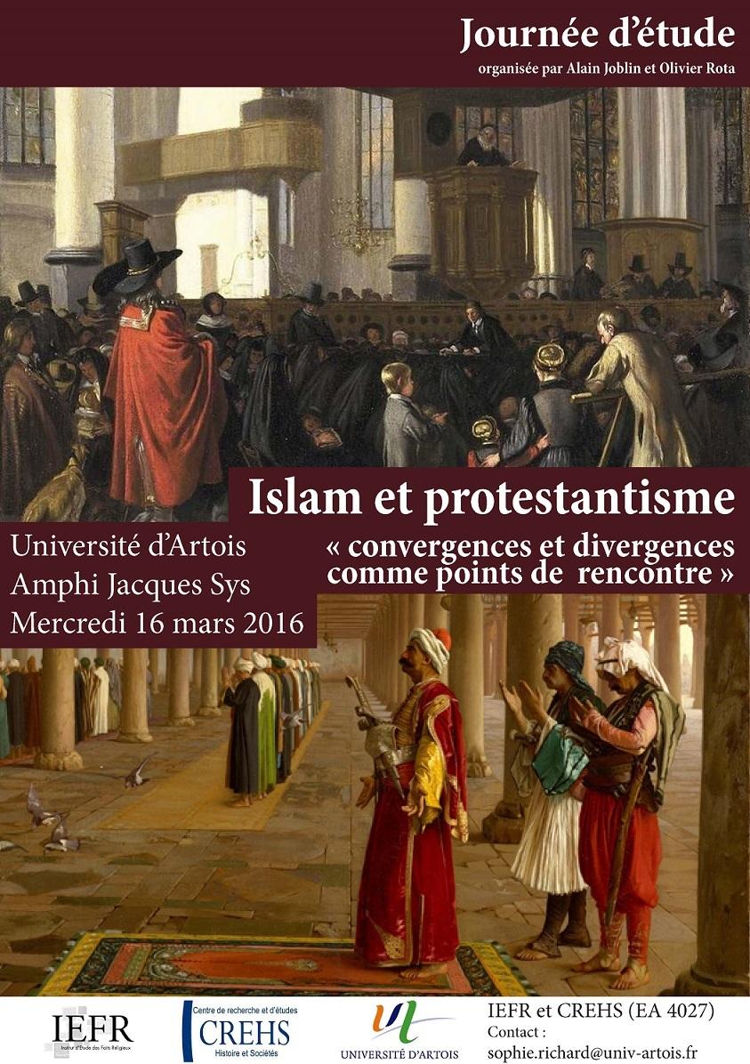 Islam Protestantisme affiche