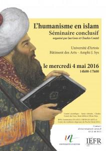 Séminaire I humanisme islam A3