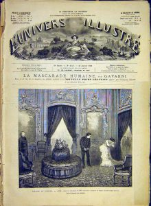 Représentation de Jack à l'Odéon 1881