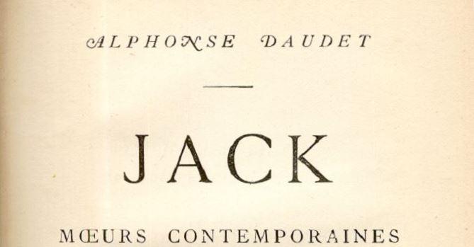 MÉLANGES TIRÉS D'UNE PETITE BIBLIOTHÈQUE (14) : «JACK» A DIT !