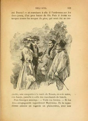664b3bbad228d 6/ « Georges se réchauffant les pieds » : repris en vignette à la page 269  de l'édition Ollendorff (1895), ce dessin présente le héros dans son  quotidien, ...