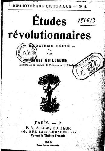 études révolutionnaires2