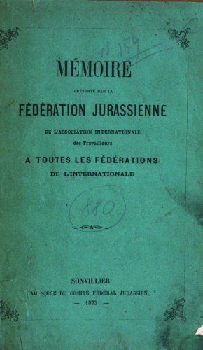 Mémoire fédération jurassienne