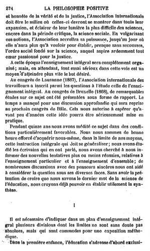 Robin-enseignement intégral-congrès