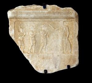 Fragment de décret de proxénie attique, Ier s. av. J.-C. (Avignon, Musée Calvet, n° inv. E28)