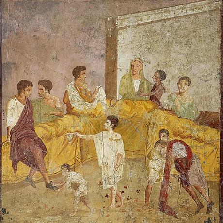 L inhospitalit table dans le monde romain une for Classic house zene