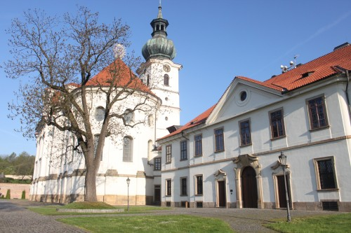 Břevnov Archabbey in Prague (CZ)