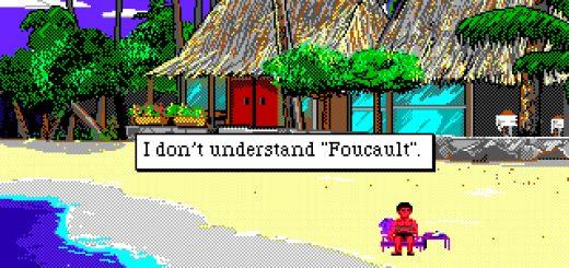 "I don't understand ""Foucault""."