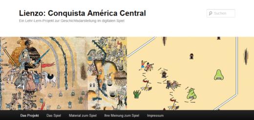 Die Projektseite des Spiels Lienzo (Screenshot)