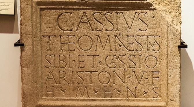 Ressources : bases de données des inscriptions latines