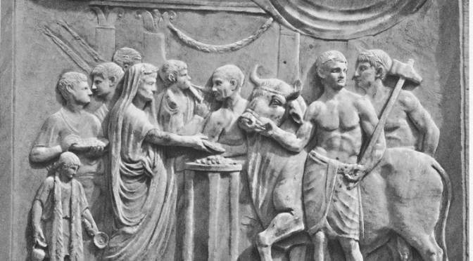Actualités : séminaire «Religions de Rome et du monde romain»