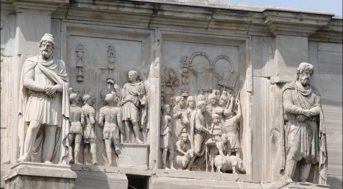 """Actualités : appel à communication IIe rencontres autour de la sculpture romaine """"Remplois en sculpture, sculptures en remploi"""""""