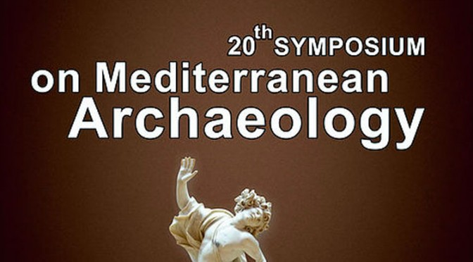 Actualités : appel à communication 20th SOMA – Symposium on Mediterranean Archaeology