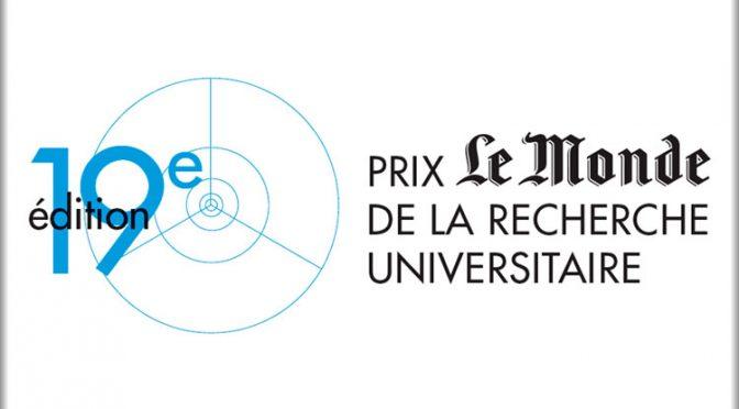 """Du côté du doctorat : prix """"Le Monde de la recherche"""""""