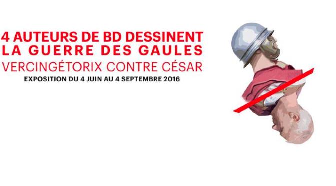 Actualités : exposition BD « Vercingétorix contre César, la guerre des Gaules »