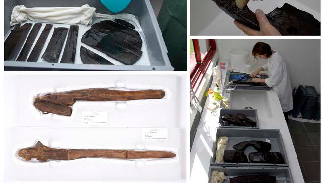 Du côté du doctorat : formation «La conservation du mobilier archéologique : les matériaux organiques»
