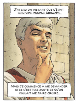 La Conjuration des rapaces, Mangin et Démarez, Casterman, 2014, p. 46, case 3