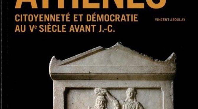 Compte rendu «Citoyenneté et démocratie au Ve siècle av. J.-C.»