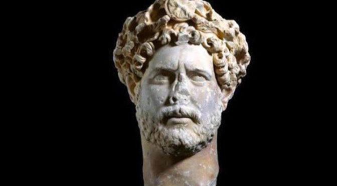 Portrait d'Hadrien au Musée de l'Acropole