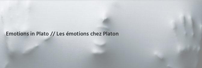 Les émotions chez Platon
