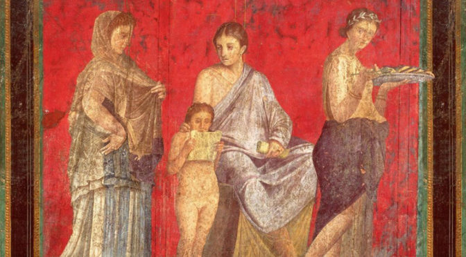 Exposition virtuelle «The Villa of the Mysteries in Pompeii. Ancient Ritual and modern Muse»