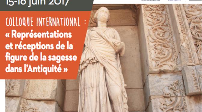 Représentations et réceptions de la figure de la sagesse dans l'Antiquité